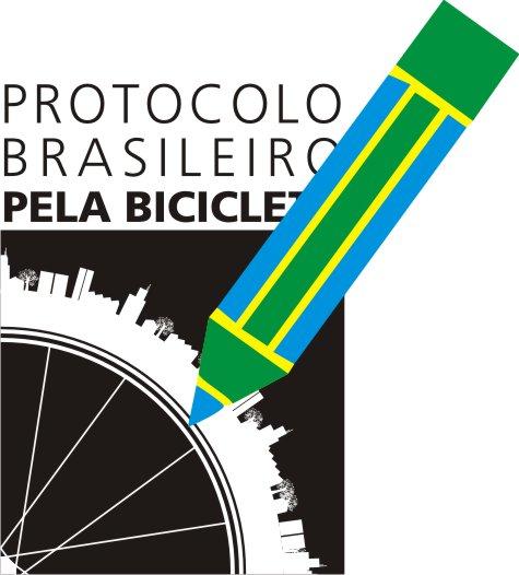 Logo Protocolo Brasileiro Bicicleta - Assinatura.