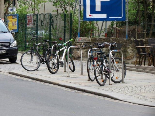 Bicicletário rua alemanha