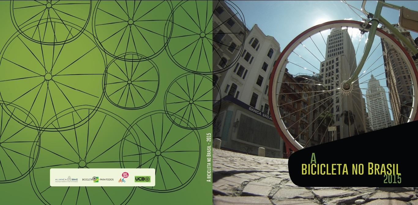 Capa Livro A bicicleta no Brasil - Aberta