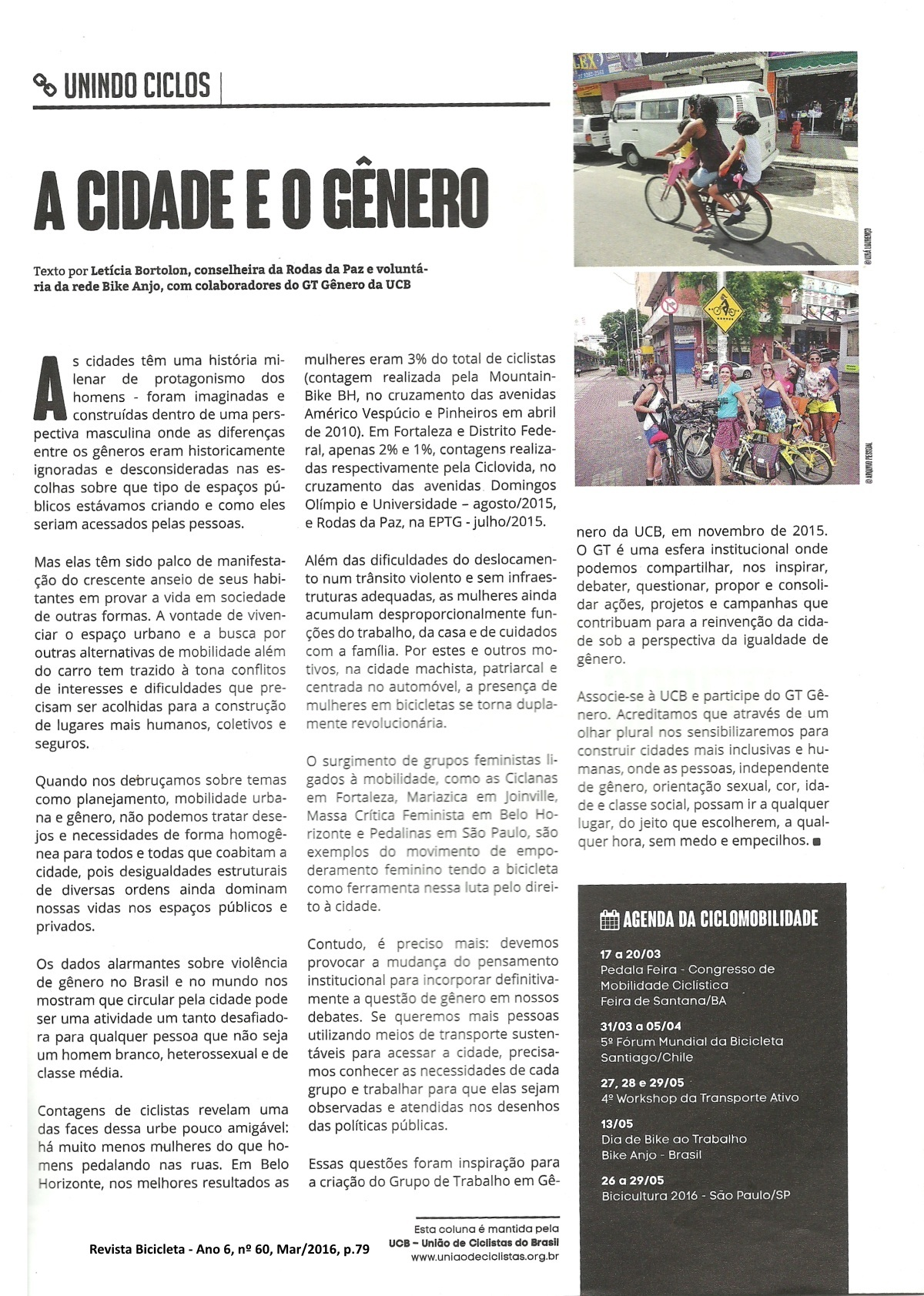 Artigo 2 - A cidade e o gênero