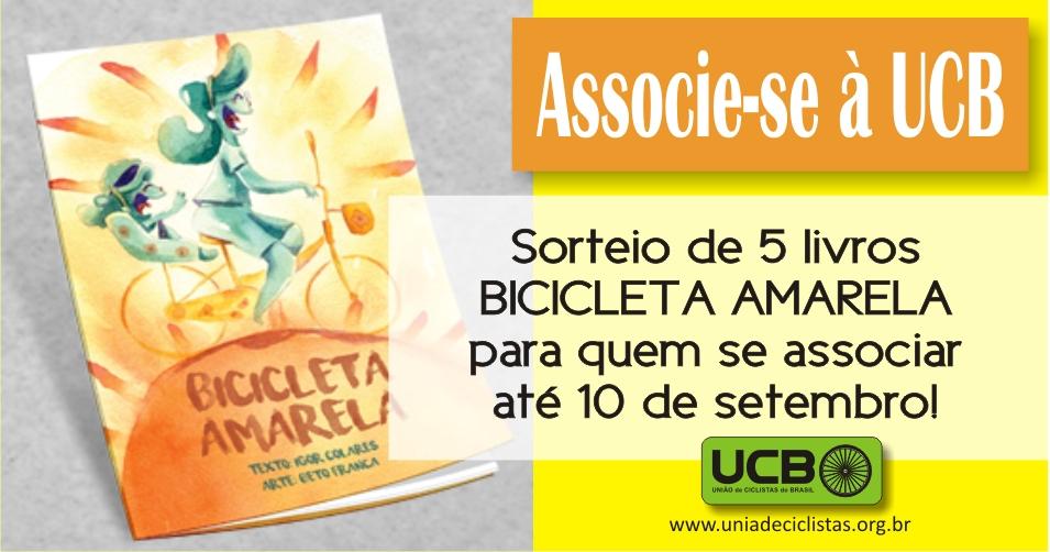 Sorteio Livro Associe-se UCB.